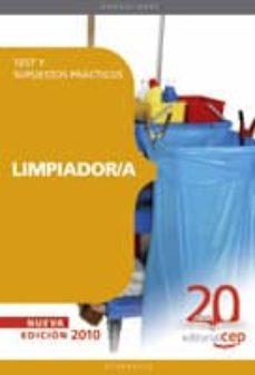 limpiador/a. test y supuestos practicos-9788468105574