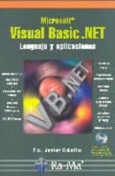Inciertagloria.es Microsoft Visual Basic.net: Lenguaje Y Aplicaciones (Incluye Cd-r Om) Image