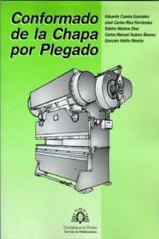 Descargar CONFORMADO DE LA CHAPA POR PLEGADO gratis pdf - leer online