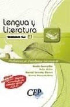 Relaismarechiaro.it Temario Oposiciones Volumen Iv. Cuerpo De Profesores De Enseñanza Secundaria. Lengua Y Literatura Image