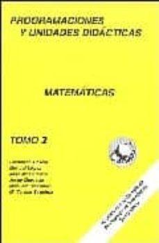 Noticiastoday.es Programaciones Y Unidades Didacticas Matematicas (Vol. Ii) Image