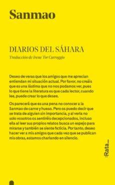 Pdf descargar libros en ingles DIARIOS DEL SAHARA de SANMAO CHM