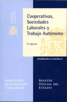 Bressoamisuradi.it Cooperativas, Sociedades Laborales Y Trabajo Autónomo- 8ª Edición Image