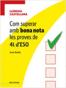 Inmaswan.es Com Superar Amb Bona Nota Les Proves De 4t D Eso: Llengua Castell Ana Image