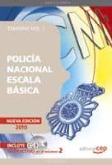 Javiercoterillo.es Policia Nacional Escala Basica. Temario Vol. I Image
