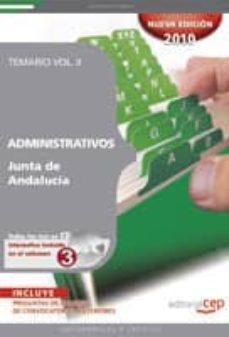 Titantitan.mx Administrativos Junta De Andalucia. Temario Vol. Ii. Image