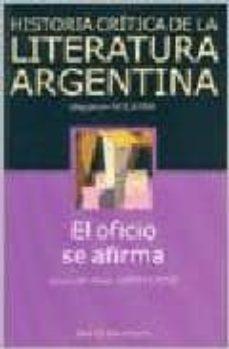 Padella.mx Historia Critica De La Literatura Argentina (Vol. 9): El Oficio S E Afirma Image