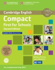 Libros descargables gratis para reproductores de mp3 COMPACT FIRST FOR SCHOOLS SECOND EDITION STUDENT S PACK (STUDENT S BOOK WITHOUT ANSWERS WITH CD-ROM,      WORKBOOK WITHOUT ANSWERS WITH AUDIO) de  (Literatura española) RTF iBook ePub