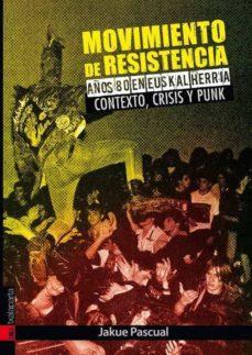 Mrnice.mx Movimiento De Resistencia. Años 80 En Euskalherria. Contexto, Cri Sis Y Punk Image