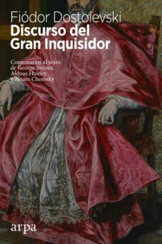 Descargas de libros electrónicos populares gratis para kindle DISCURSO DEL GRAN INQUISIDOR 9788416601684 en español