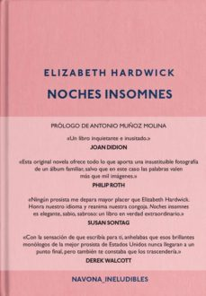 Descargar el foro de google books NOCHES INSOMNES de ELIZABETH HARDWICK