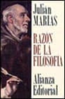 razon de la filosofia (2ª ed.)-julian marias-9788420696584
