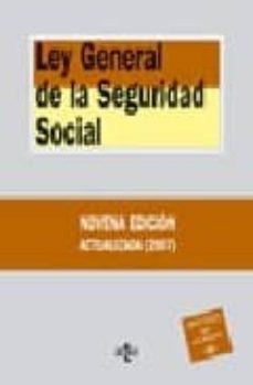 Canapacampana.it Ley General De La Seguridad Social (9ª Ed.) Image