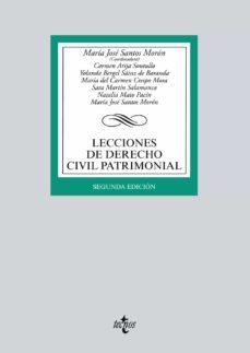 Descargar LECCIONES DE DERECHO CIVIL PATRIMONIAL gratis pdf - leer online