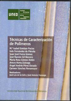 Encuentroelemadrid.es Tecnicas De Caracterizacion De Polimeros (Dvd) Image