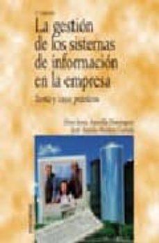 Inmaswan.es La Gestion De Los Sistemas De Informacion En La Empresa: Teoria Y Casos Practicos (2ª Ed.) Image