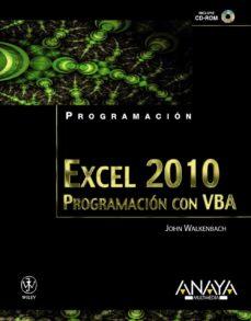 Descargar EXCEL 2010: PROGRAMACION CON VBA gratis pdf - leer online