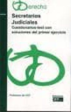 Inmaswan.es Secretarios Judiciales: Cuestionarios Test Con Soluciones Y 1º Ej Ercicio Image