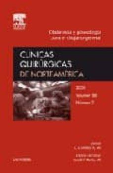 Cdaea.es Clinicas Quirurgicas De Norteamerica 2008. Volumen 88 Nº 2: Obste Tricia Y Ginecologia Para El Cirujano General Image