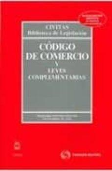 Carreracentenariometro.es Codigo Comercio Y Leyes Complementarias (33ª Ed.) Image