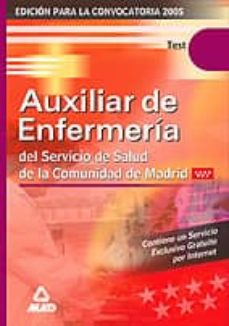 Asdmolveno.it Test Auxiliar De Enfermeria Servicio Madrileño De Salud Image