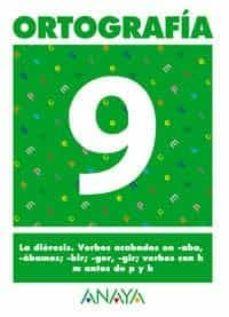 ortografia 9 (primaria) (ed. 2004)-andrea pastor fernandez-9788466727884