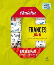 Descargando ebooks gratis FRANCES FACIL PARA BACHILLERATO (CHULETAS 2016) iBook PDF CHM 9788467044584 de