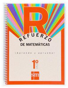 refuerzo matematicas aprende y aprueba 1º eso-9788467513684