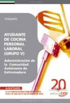 Permacultivo.es Ayudante De Cocina, Personal Laboral (Grupo V) De La Administraci On De La Comunidad Autonoma De Extremadura. Temario. Image