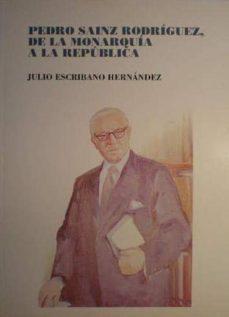 Milanostoriadiunarinascita.it Pedro Sainz Rodriguez, De La Monarquia Ala Republica Image