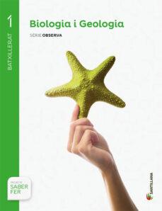 biologia i geologia 1º batxillerat saber hacer catala ed. 2015-9788490475584