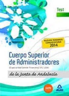 Carreracentenariometro.es Cuerpo Superior De Administradores [Especialidad Gestión Financiera (A1 1200)] De La Junta De Andalucía. Test Image