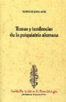 Descargar libros gratis de audio en línea TEMAS Y TENDENCIAS DE LA PSIQUIATRIA ALEMANA RTF 9788493091484