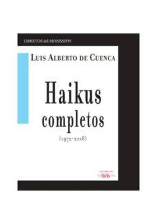 Descarga gratuita de libros electrónicos en pdf para ipad. HAIKUS COMPLETOS (1972-2018)