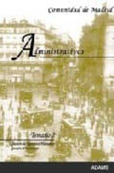 Valentifaineros20015.es Administrativos De La Comunidad De Madrid: Temario 2 Image