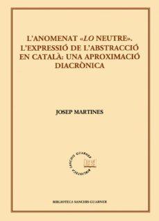 Bressoamisuradi.it L Anomenat Lo Neutre. L Expressio De L Abstraccio En Catala: Una Aproximacio Diacronica Image