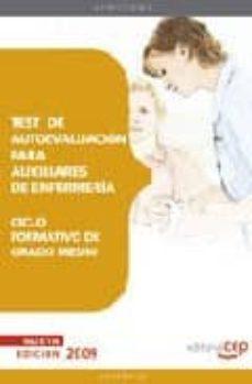 Costosdelaimpunidad.mx Test De Autoevaluacion Para Auxiliares De Enfermeria. Ciclo Forma Tivo De Grado Medio Image