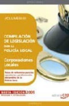 Geekmag.es Compilacion De Legislacion Para La Policia Local. Volumen Iii. Image
