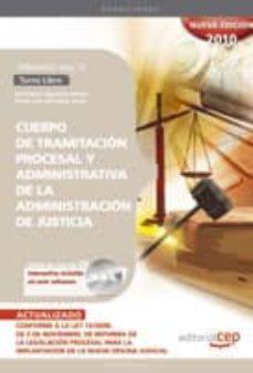 Inmaswan.es Cuerpo De Tramitacion Procesal Y Administrativa De La Administrac Ion De Justicia. Turno Libre. Temario Vol. Ii. Image