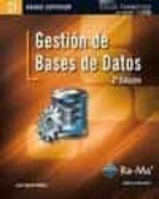 Descargar GESTION DE BASES DE DATOS gratis pdf - leer online