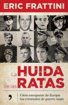 la huida de las ratas (ebook)-eric frattini-9788499986784