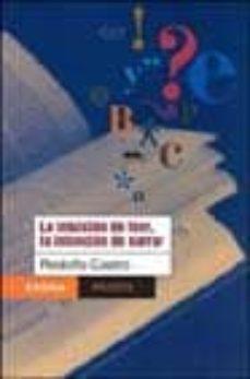 Padella.mx La Intuicion De Leer, La Intencion De Narrar Image