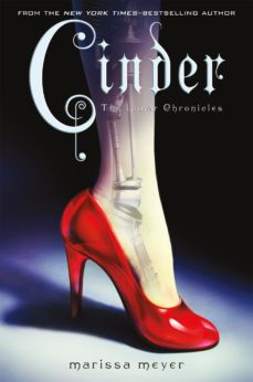 cinder: book one of the lunar chronicles-marissa meyer-9780312641894
