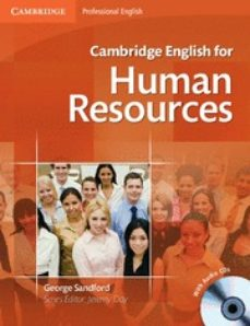 Descargas de audiolibros gratis reproductores de mp3 CAMBRIDGE ENGLISH FOR HUMAN RESOURCES STUDENT S BOOK WITH AUDIO CDS (2) de  9780521184694