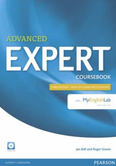 expert advanced 3rd edition coursebook with myenglishlab (examenes)-9781447961994