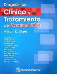Descarga gratuita del libro de frases francés DIAGNOSTICO CLINICO Y TRATAMIENTO DE CLEVELAND CLINIC en español
