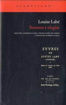 sonetos y elegias-louise labe-9788415277194