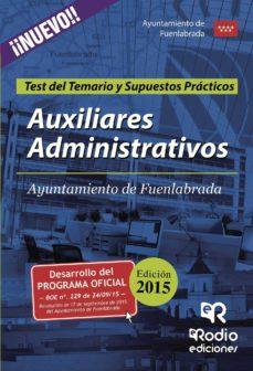 Emprende2020.es Auxiliares Administrativos Del Ayuntamiento De Fuenlabrada. Test Del Temario Y Supuestos Prácticos Image