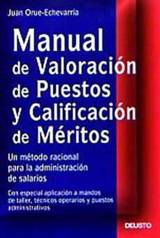 Premioinnovacionsanitaria.es Manual De Valoracion De Puestos Y Calificacion De Meritos: Un Met Odo Racional Para La Administracion De Salarios Image