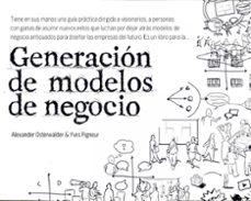 generacion de modelos de negocio-alexander osterwalder-yves pigneur-9788423427994